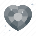 brilliant, death, diamond, heart, marble, please, rating icon