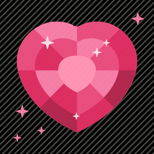 donate, donor, garnet, heart, life, love, ruby icon