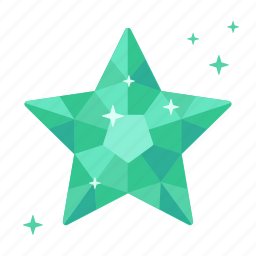 adamant, crystal, diamond, emerald, fortune, rating, topaz icon