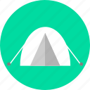 tent, tenting icon