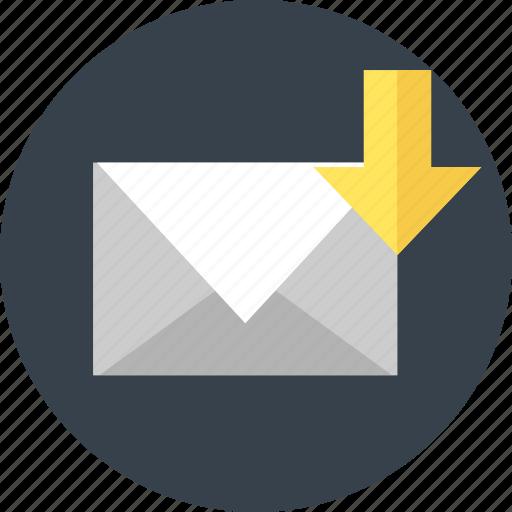 email, envelope, letter, mail, media, post icon