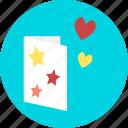 envelope, letter, mail, post, heart, love, romance