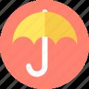 email, insurance, post, premium, security, umbrella icon