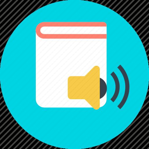 audio, book, books, library, record icon