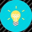 bulb, creative, creativity, lamp, light icon
