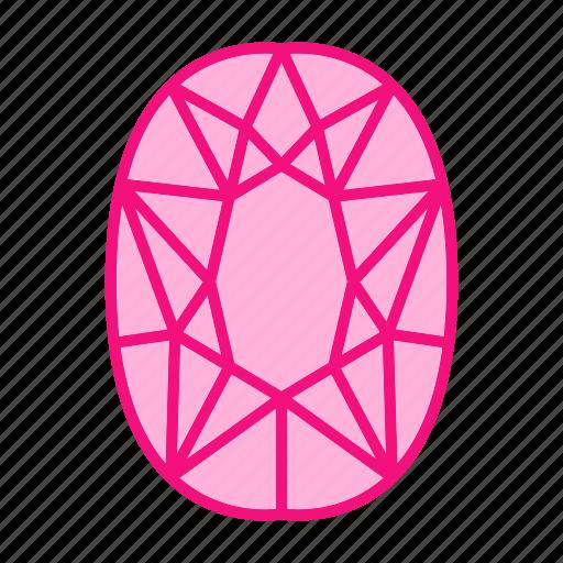 Diamond, gem, gemstone, jewel, jewelry, pear icon - Download on Iconfinder