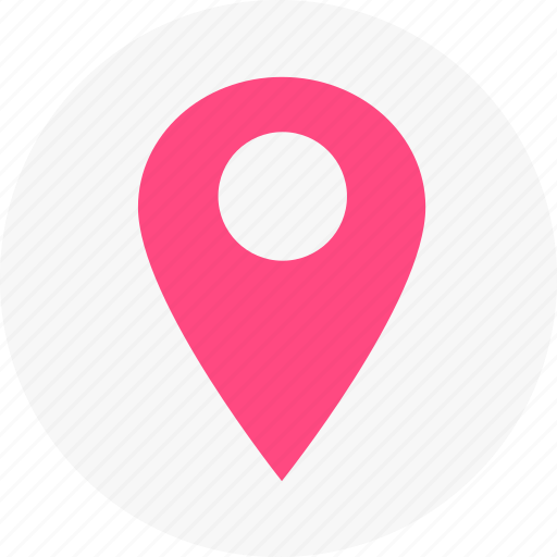 location, map, navigation icon