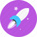 launch, missile, rocket, science, space, spaceship, universe icon