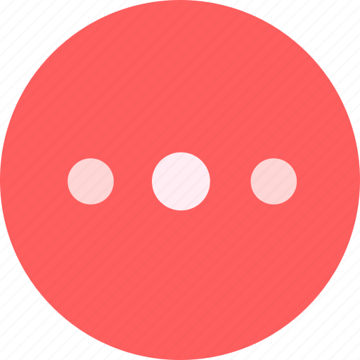 dots, more, options icon