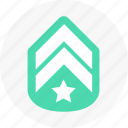 achievement, medal, rank icon