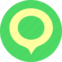 messages, review icon