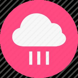 cloudy, rain, weather icon