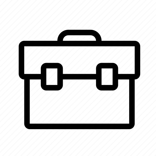 bag, business, case, packing icon