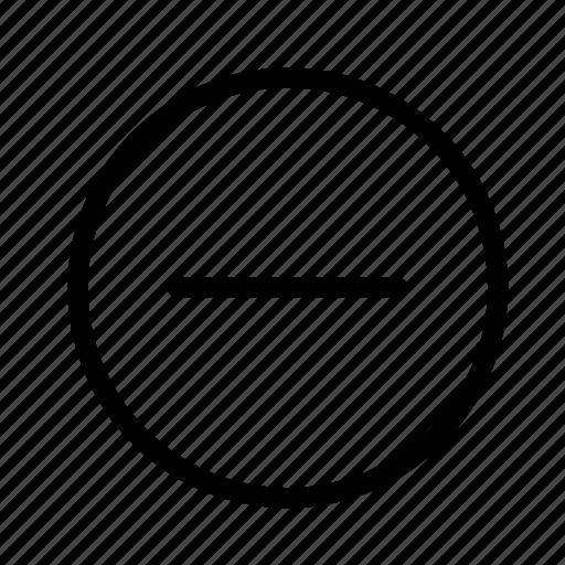 ban, delete, no, remove icon