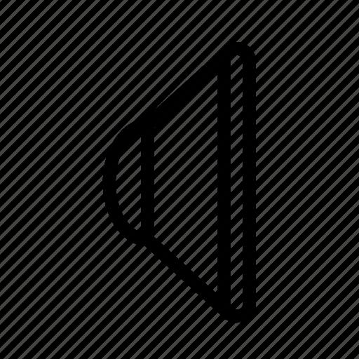 audio, mute, sound, speaker icon