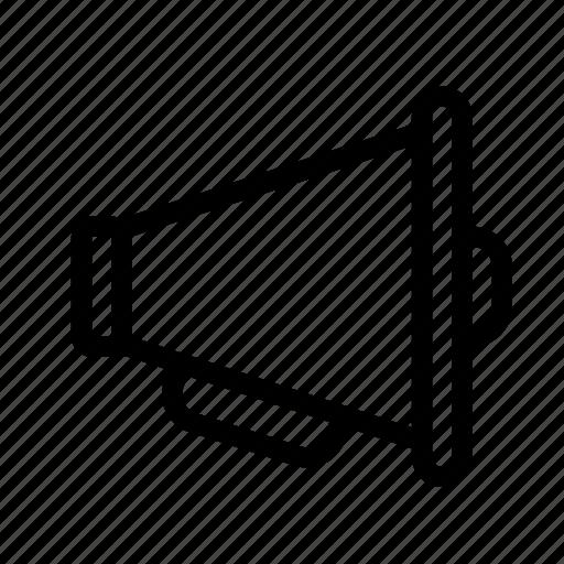 advertisement, sound, voice, volume icon
