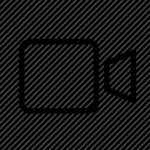 media, record, recorder, video icon