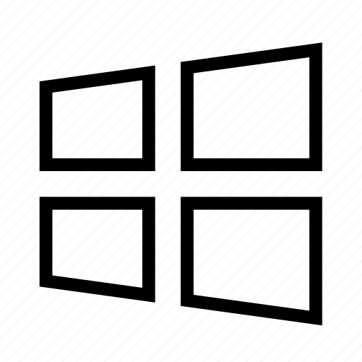 microsoft, operating, system, windows icon