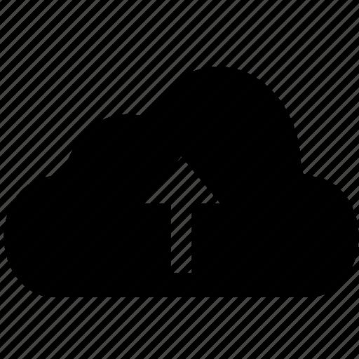 cloud, download, send, submit, transmit, upload icon