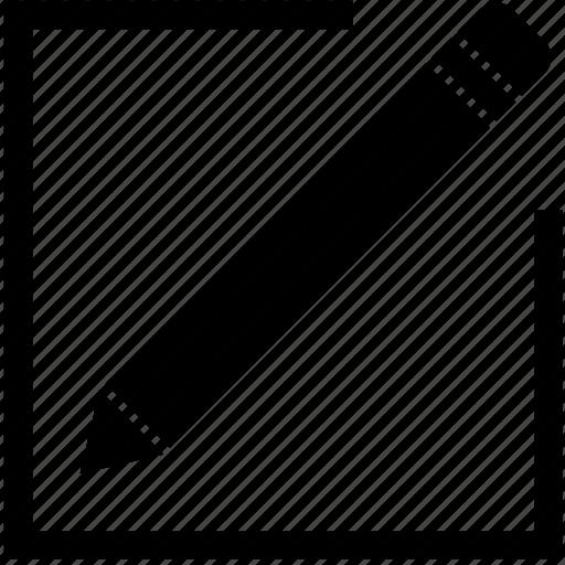 alter, change, edit, modify, redo, writting icon