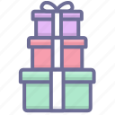 gifts, present, presents icon