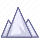 landscape, mountain, mountains icon