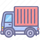 cargo, devliery, goods, shipping, truck icon