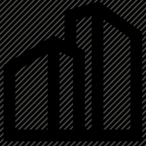 building, company, construction icon