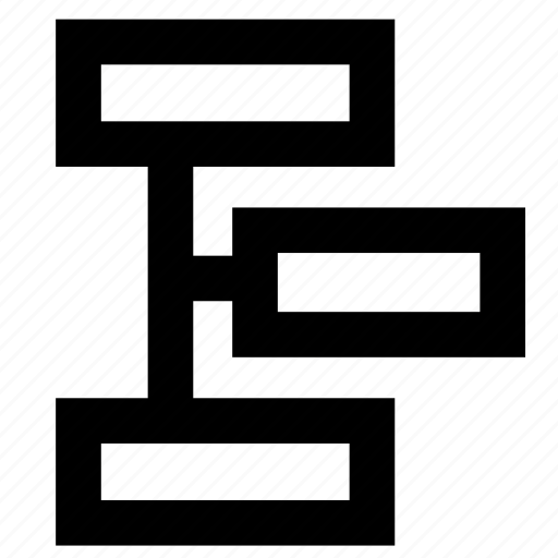 diagram, organization, structure icon