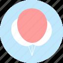 balloons, celebration, decoration, holiday icon