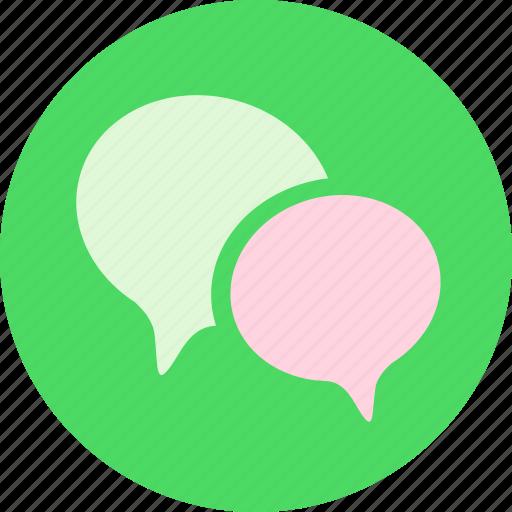 chat, comment, communication, conversation, discuss, message, talk icon