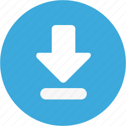 data, down, download icon