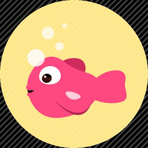 animal, animals, fish icon