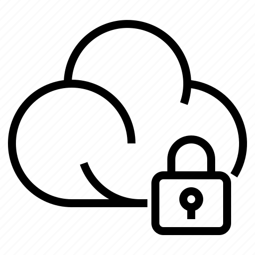 cloud, cloud secure, gdpr, general data protection regulation, secure icon