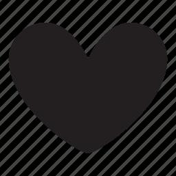 adore, heart, love, romance icon