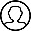 account, profile icon