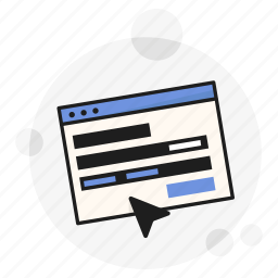 application, cursor, panel, properties, ui, ux, website icon