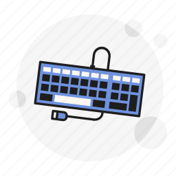 device, keyboard, keypad, qwerty, technology, typing, user icon