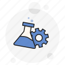 chemical, development, gear, lab, plugin, progress, research icon