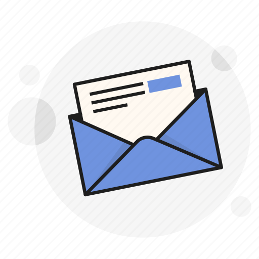 envelope, mail, newsletter, personal, read, send, write icon