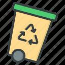 recycle, bin, delete, rubbish, trash, can, garbage