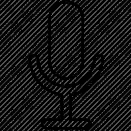 microphone, radio, record, recording icon