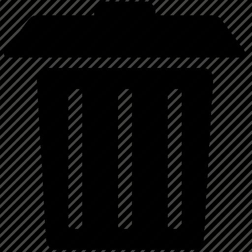 Delete, garbage, junk, remove, trash, trash can icon - Download on Iconfinder