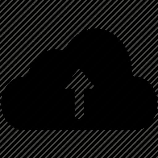cloud, download, send, transfer, transmit, upload icon