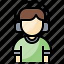 afro, avatar, boy, generation, profile, user, z