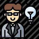 avatar, idea, man, people, profile, social, user icon