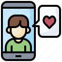 communications, contact, mobile, phone, screen, touch, ui
