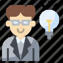 avatar, idea, man, people, profile, social, user