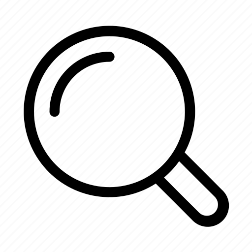find, locate, magnifier, search icon