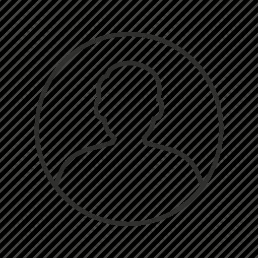 avatar, circle avatar, male user, man, user, user image, user photo icon